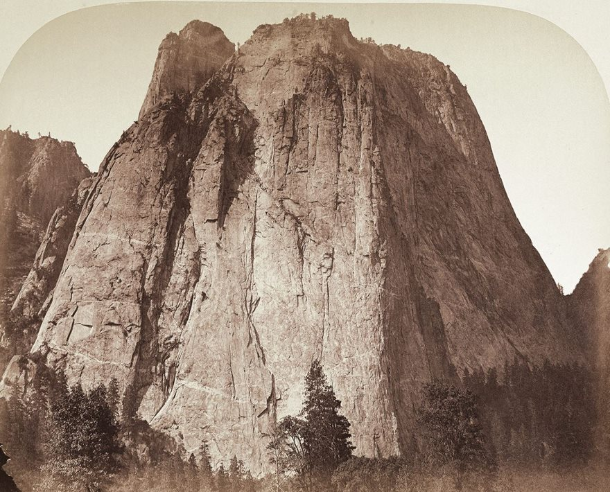 #94 Cathedral Rock, Yosemite, Carleton Watkins, 1861 - Top 100 Of The Most Influential Photos Of All Time