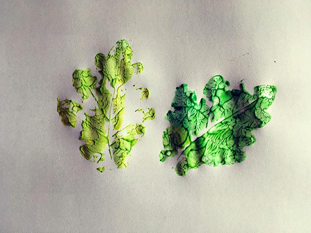knutselen met papier herfst