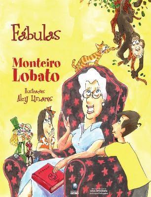 Livro Fábulas de Monteiro Lobato