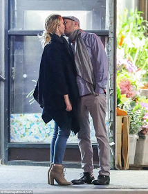 Actress Jennifer Lawrence And Beau Smooches During Romantic Date.