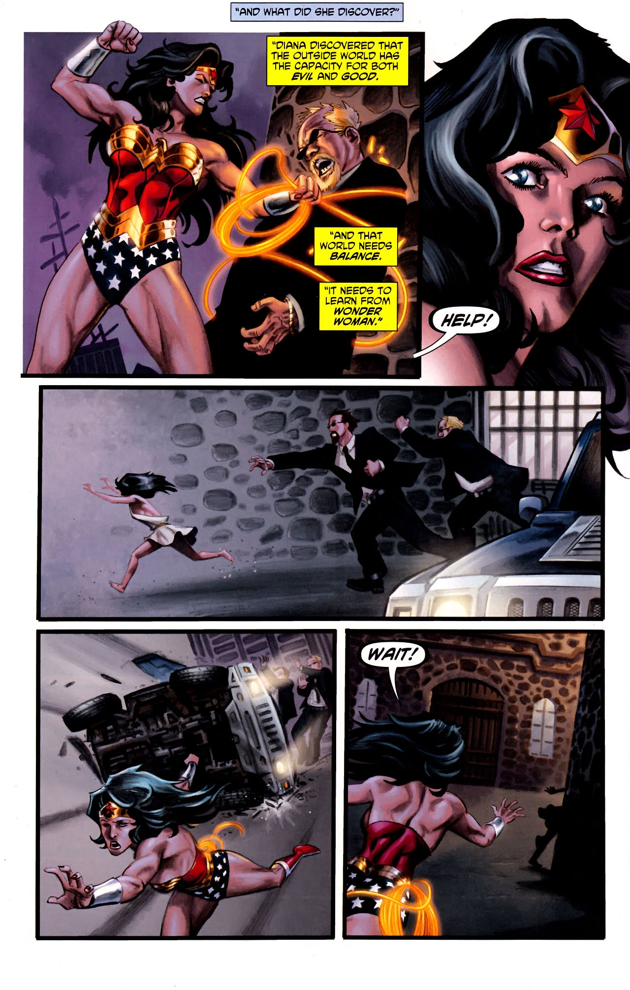 Read online Wonder Woman (2006) comic -  Issue #600 - 33
