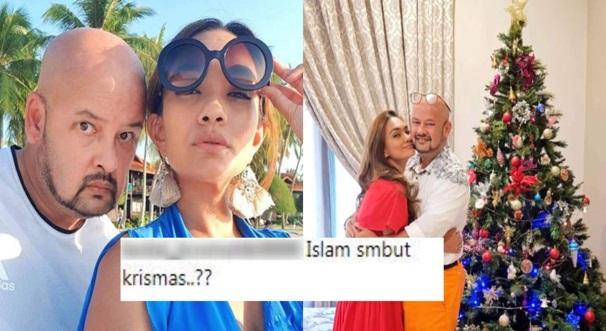 """Tak Perlu Jaga Tepi Kain Orang…"" -Dikecam Muat Naik Foto Krismas, Jawapan Win Isteri Harith Iskander Bikin Haters Senyap!"