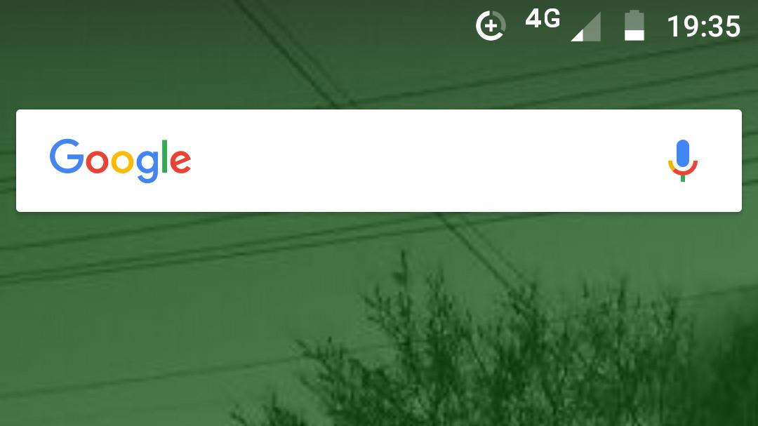 スマホのホーム画面のGoogle検索バー