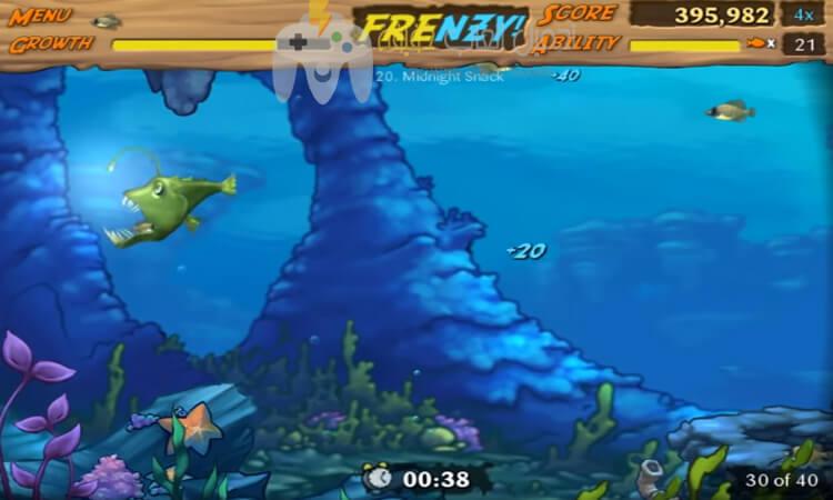 تحميل لعبة السمكة 2 Feeding Frenzy بدون تسطيب للكمبيوتر