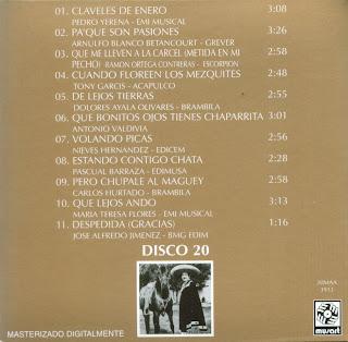 Antonio Aguilar - Mi Historia Disco 20