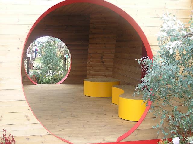 nowoczesna altana drewniana