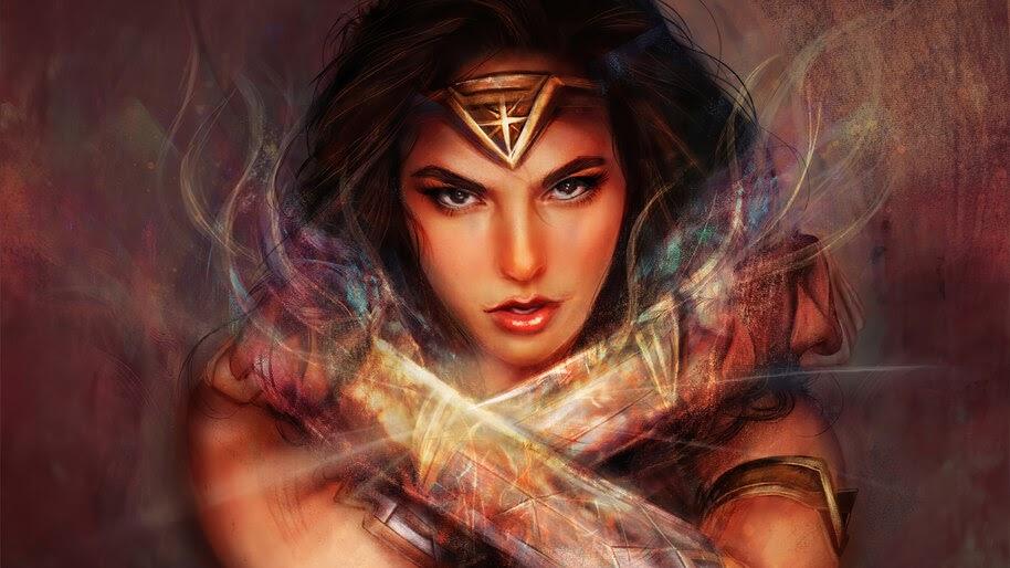 Wonder Woman, DC, Art, 4K, #6.1214