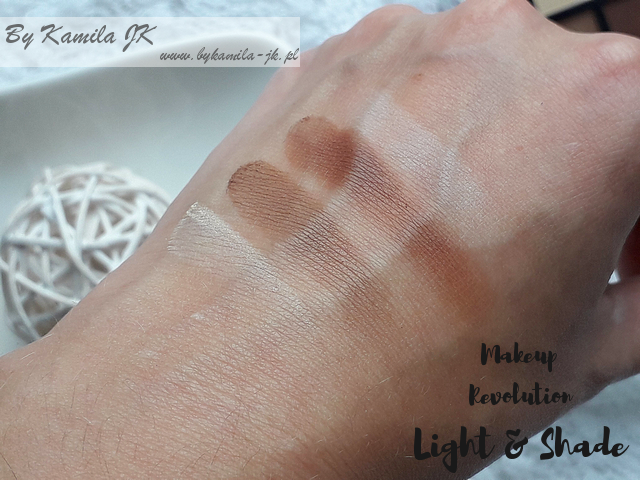 Makeup Revolution Light & Shade swatch