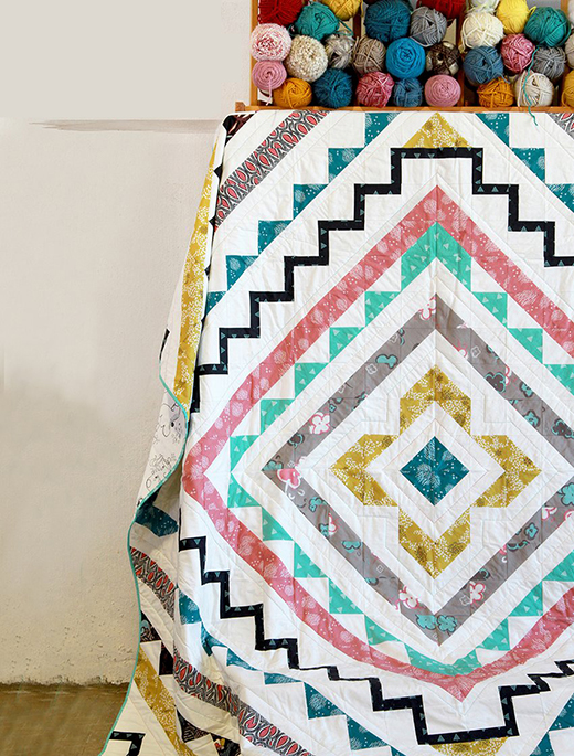 Soulful Windows Quilt Free Pattern