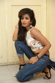 Deekshita Parvathi in a short crop top and Denim Jeans Spicy Pics Beautiful Actress Deekshita Parvathi January 2017 CelebxNext (96).JPG
