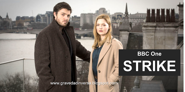 Strike BBC Robin Ellacott Cormoran Strike Tom Burke Holliday Grainger