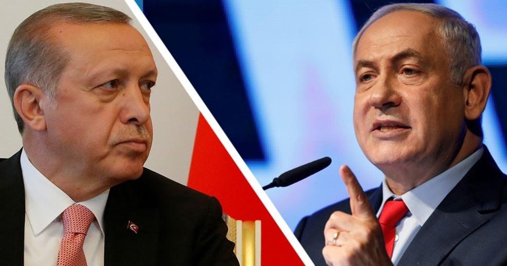 Risultati immagini per netanyahu and erdogan