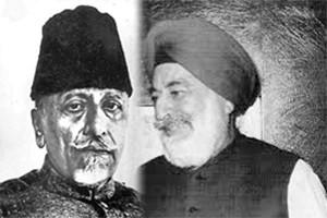 maulana-azad-and-kunwar-mohinder-singh-bedi-sahar