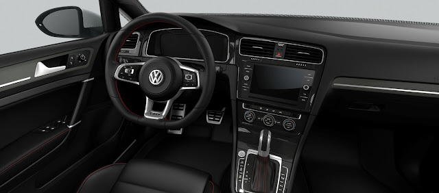 Novo VW Golf GTI 2018 - Completo - interior
