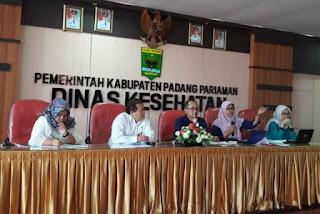 Hari Kesehatan Nasional ke-54 di Padang Pariaman, Gelar Berbagai Kegiatan