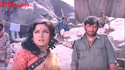 Sholay (1975) is an Indian adventure Hindi language film written by Salim-Javed and directed by Ramesh Sippy and produced by his father G.P. Sippy in 1975. The film is about two criminals Veeru and Jai hired by a retired police officer to capture the ruthless dacoit Gabbar Singh. The film is starred by Dharmendra, Amitabh Bachchan, Sanjeev Kumar, Hema Malini, Jaya Bhaduri, Amjad Khan and some others. Story: The film story is about two criminals hired by a police officer to capture a ruthless dacoit who has spoiled his family. This film story is influenced by many Indian and western film making styles. For example; there is a train robbery scene in this film. This idea has been taken influenced by an Indian film. The scholars have noted several themes in the film, for example; glorification of violence, conformation to feudal ethos, debate between social order and mobilized usurpers, homo social bonding and the film's role as a national allegory. Plot: A retired police officer Thakur Baldev Singh summons a pair of small time thieves that he had once arrested, in the small village of Ramgarh. Thakur thinks that the duo, Veeru and Jai would be the ideal persons to help him to capture Gabbar Singh a dacoit wanted by the authorities for a fifty thousand rupees reward. Thakur tells them to surrender Gabbar to him, alive, for an additional twenty thousand rupees reward. Soon afterwards, Gabbar and his goons attack Ramgarh during the festival Holi. In a tough battle, Veeru and Jai are cornered. Although, Thakur has a gun within his reach, but does not help them. Veeru and Jai fight back and the dacoits flee. The two are very upset at Thakur's inaction and consider leaving the village. Thakur explains that Gabbar Singh has killed his family members and cut off both of his arms. At last Jai and Veeru knew the reality. They returned back the money to Thakur and promised to help him without money. Living in Ramgarh, Veeru is attracted to Basanti, a feisty, talkative young woman who makes her living by driving a horse-cart. Jai is attracted to Radha, Thakur's widowed daughter-in-law. Finally, Veeru and Basanti are captured by the dacoits head, Gabbar Singh. But Jai attacks the gang and the three are able to flee Gabbar's hideout with dacoits in pursuit. Fighting from behind a rock, jai forced Veeru Basanti to leave out. He only will fight against them. But he is wounded suddenly. Finally, he is died. Veeru attacks Gabbar's den and catches the dacoit. Veeru nearly heats Gabbar to death when Thakur appears to him. Veeru hands over him to Thakur. Thakur uses his spike-soled shoes to severly injure Gabbar and destroy his hands. Gabbar is died severely. Veeru leaves Ramgarh and finds out Basanti waiting for him on the train. Radha left alone again. Cinematography: Dwarka Divecha is the cinematographer of the film. It is a 1970s film. At that time, it was one of the best and high grossing films in India. Cinematography, acting and dialogue are the main attention for the audiences in this film. The main characteristics of cinematography are; shot divisions, mise-en-scene and lighting. Shots: In this film there are shot variations. Various kinds of shots have been taken. For example; close shot, medium shot, wide and long shots. Mise-en-scene: The arrangement and set up of scenery and prps of a film is called mise-en-scene. Set design and props arrangement are very natural in this film. For example; a road had been built in the side of the rocky terrain of Ramgarh. Lighting: Natural light has been used mostly in this film. But sometimes, artificial light has been used also. But specially natural or sun light is the prime thing for lighting source. Acting: At that time, the famous actors and actress had acted in this film. They were very popular for their performance to the audiences for India and World Wide. Amitabh Bachchan, Dharmendra, Hema Malini, Jaya Bhaduri, Sanjeev Kumar, Amjad Khan and others have acted in this film. Specially, their acting and the film scenery is like the cinema named 'The Good, The Bad and The Ugly (1966)'. Before in melodrama film, female was the main character. But for the first time in India, male character is in the leading role in this film. Sound and Music: Music is composed by R.D. Burman. There are songs also in this film. Actually song is one of the main characteristics of modern cinemas in India. In the west or the East, the use of song in film is very rear. But in our subcontinent song is very popular. It is also our cultural fact. In this film the songs are not more attractive than the dialogues to the audiences. Background music is made in accordance with the scenery and mise-en-scene. Editing: The film is edited by M.S Shinde. Actually, he was one of the best film editors in India at that time. He edited over 100 films. The real talk is that the film is edited in such a style that the film's editing style seems like the editing style of the film named 'The Good, The Bad and The Ugly (1966). The background scenery and specially the background sound are like the style of that film. actually, Sholay's editing style is influenced by some western films.