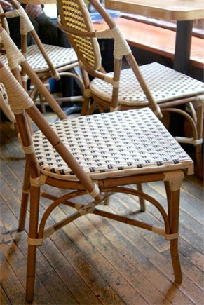 High Street Market French Rattan Bistro Chair