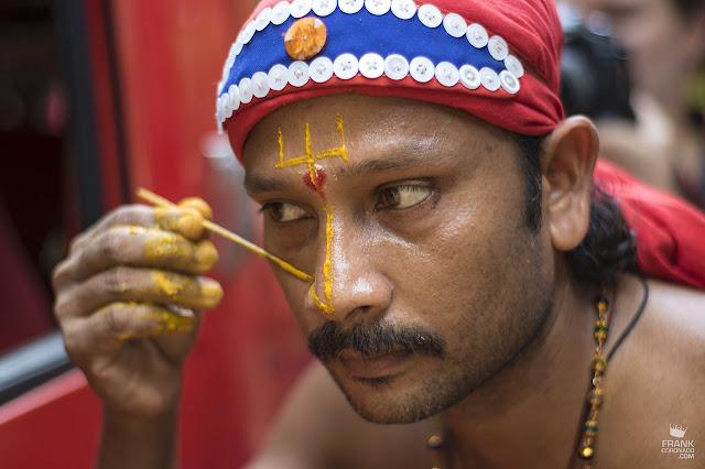 maquillaje danzas de Kerala