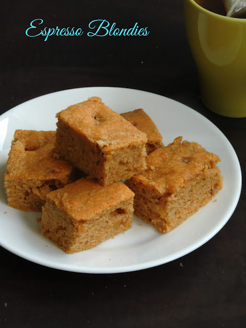 Espresso Blondies, Xpresso Blondies