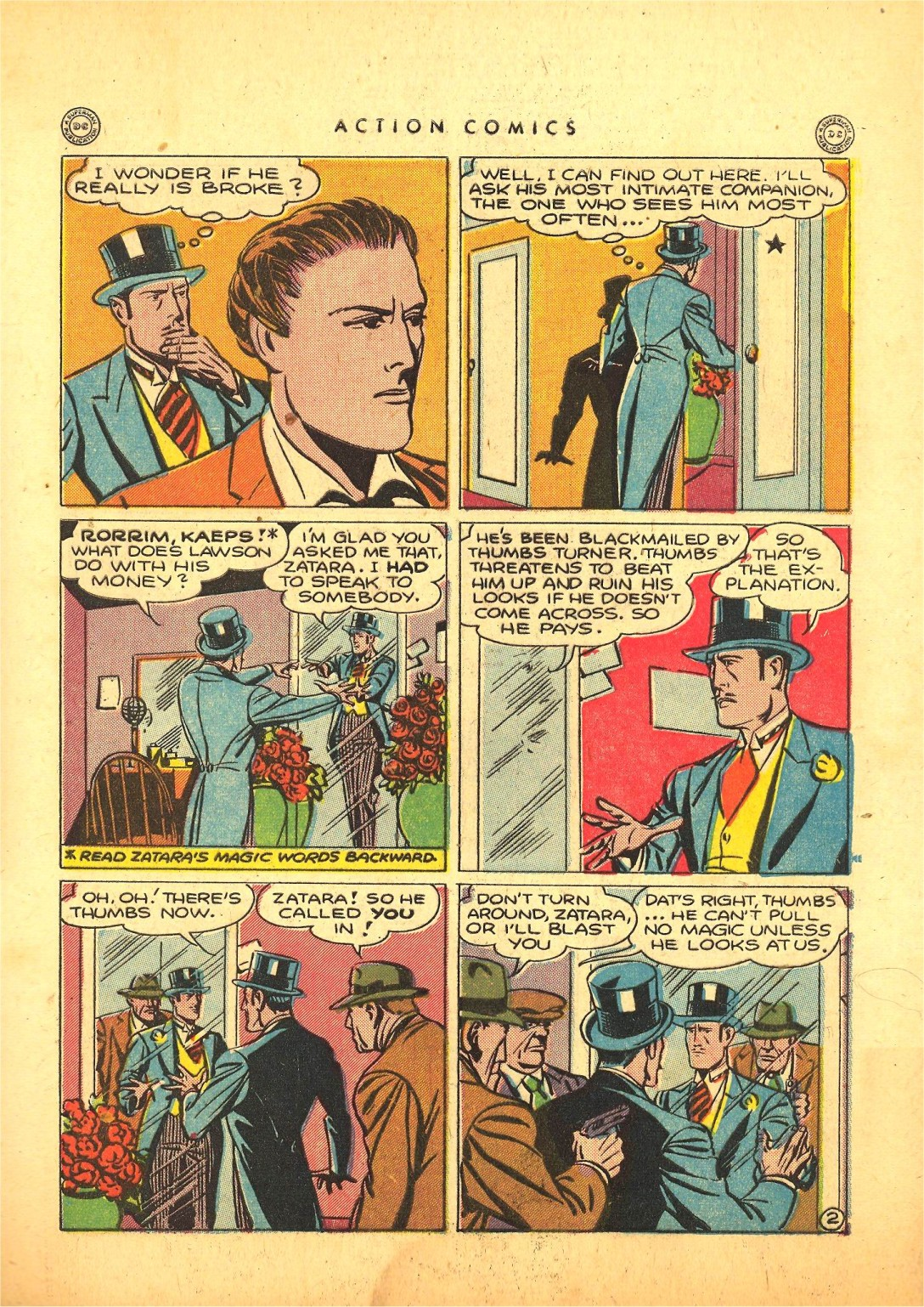 Read online Action Comics (1938) comic -  Issue #87 - 42