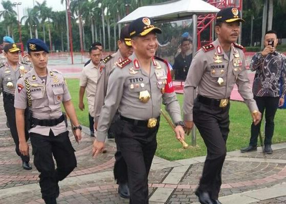 Kapolri: Polantas Jangan 'Galak-Galak' kalau Tilang Anggota TNI