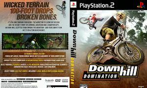تحميل لعبة الدراجات الهوائية الجبلية بلاستيشون 2 downhill domination ps2 وتشغيلها في الكمبيوتر