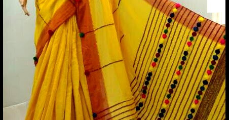 Soft Cotton Saree can ware From a bride to a working woman