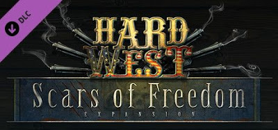 غلاف لعبة Hard West Scars of Freedom