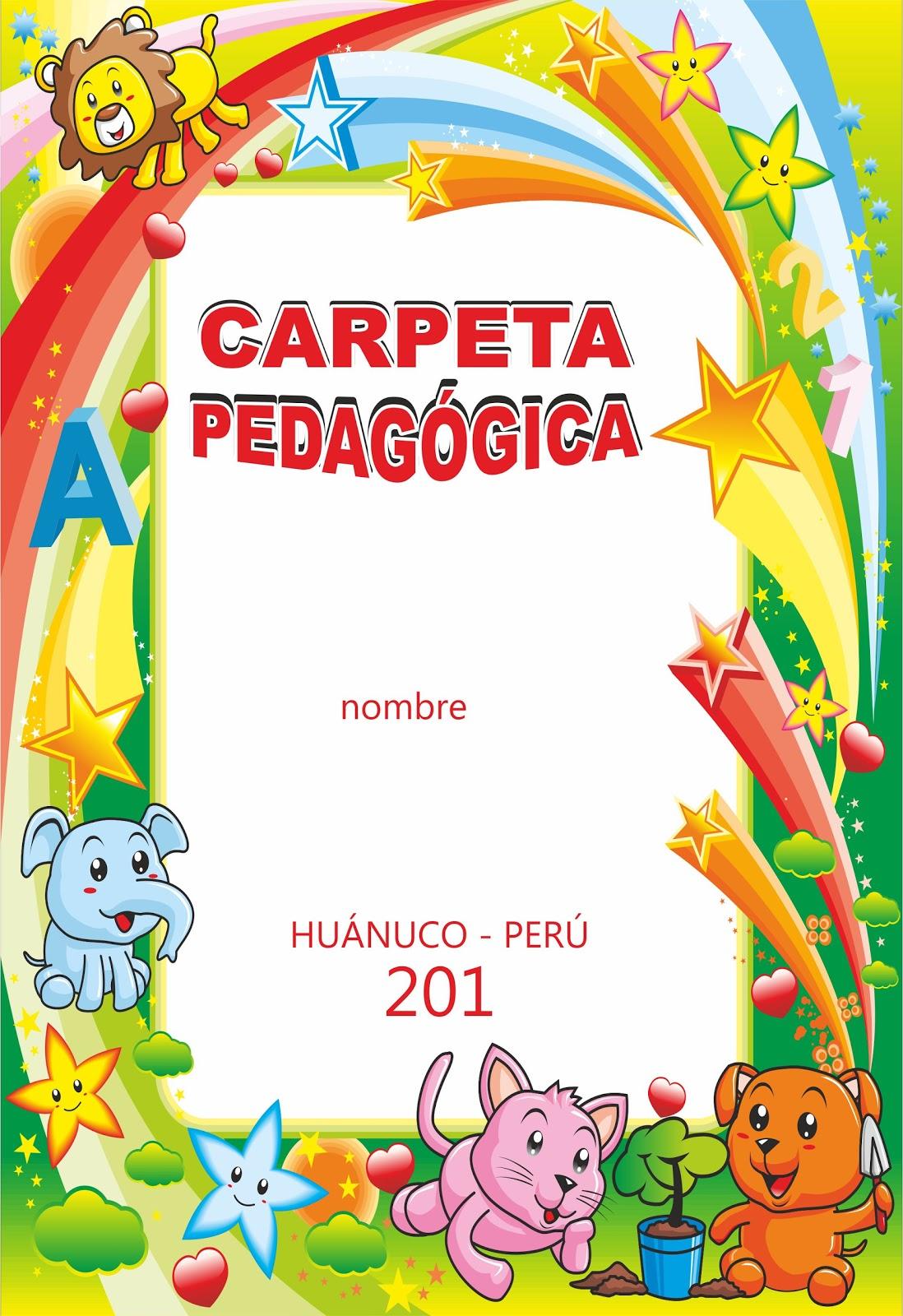 diseños educativos de carpeta pedagógica: octubre 2011