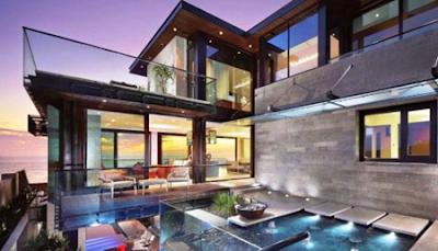 contoh rumah minimalis kaca