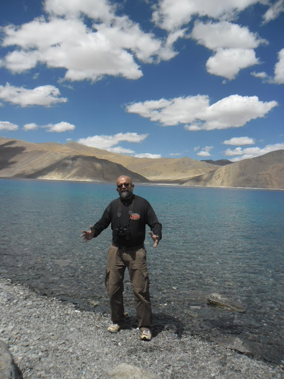Exploring Leh-Ladakh and motoring across Mountain roads.