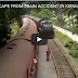 Lucky Man Narrow Escape From Train Accident in Kerala India