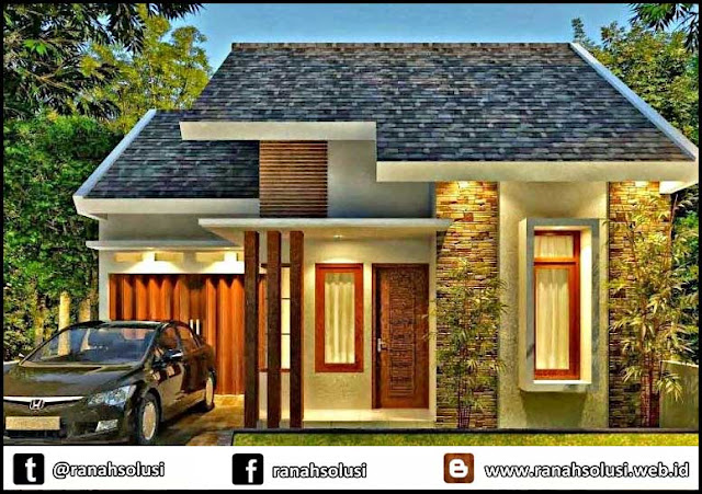 Gambar Desain Rumah Minimalis Type 36