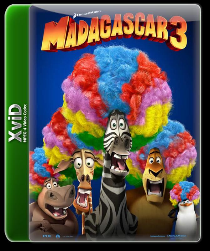 DUBLADO AVI BAIXAR MADAGASCAR DVDRIP 3