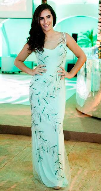 Livian Aragão, filha do Didi, vestido debutante