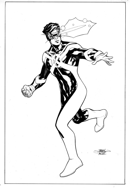 The Bombshellter: Cyclops Inhumans Vs X-Men #4 Cover Step