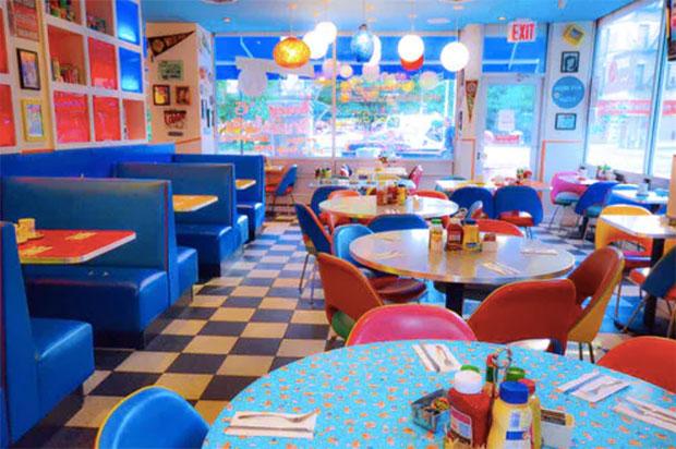 restaurantes diners en Nueva York big daddy's diner