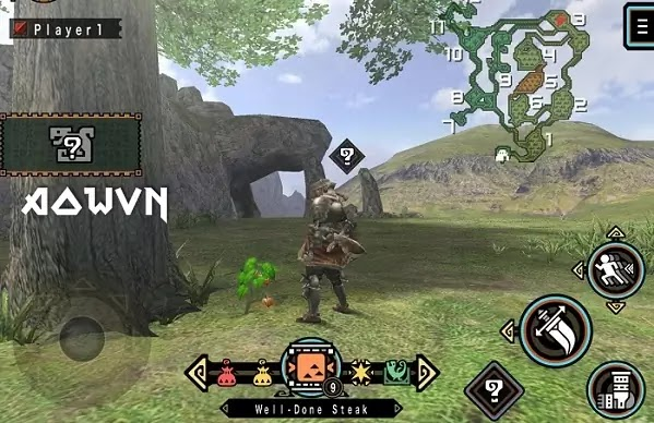 AowVN%2B%25283%2529 - [ PPSSPP ] Monster Hunter Freedom Unite   EN - Game Săn Quái Cực Hay - Giả Lập Android & PC