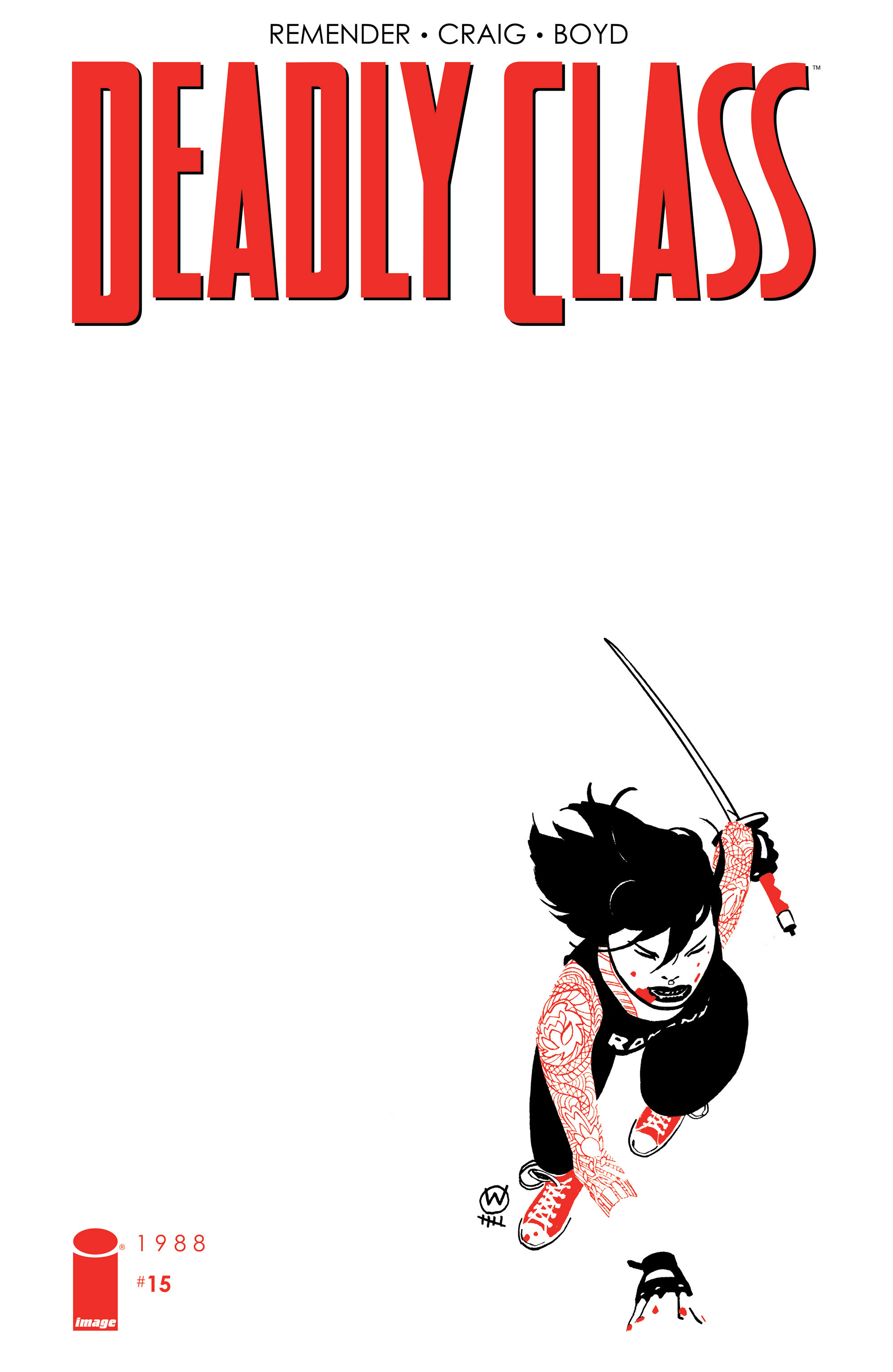 Deadly Class 15 Page 1