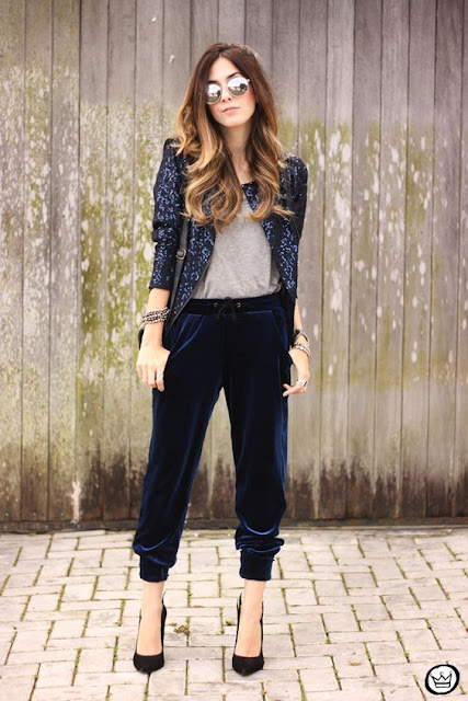 Fashion Coolture con pantalones riverside #velvet | mamayfashionista.blogspot.com