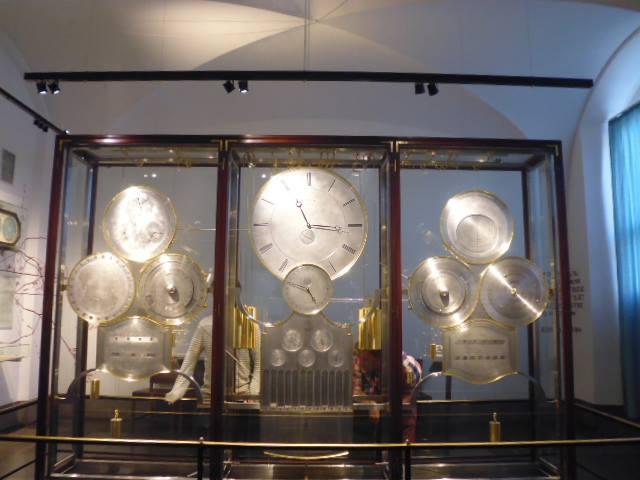Reloj astronómico de Jens Olsen (Ayuntamiento de Copenhague)