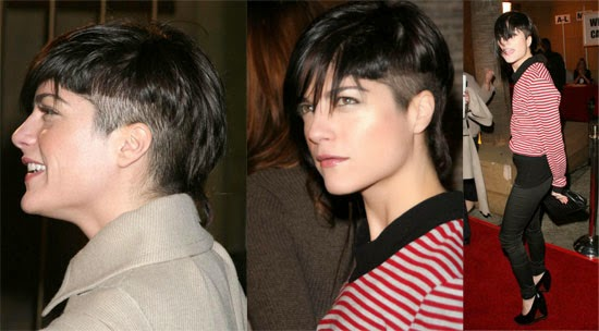 Lady Nape Selma Blair Short Hairstyle Bob Pixie