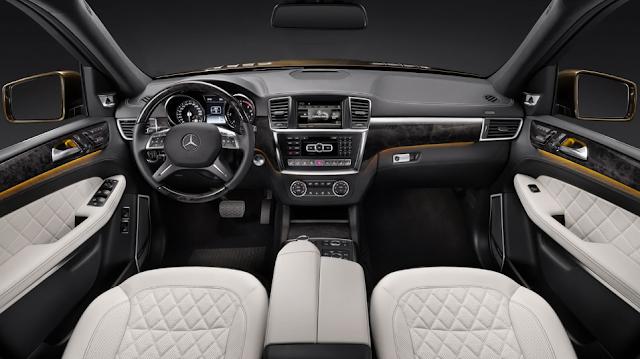 Mercedes GL 320 Redesign Interior