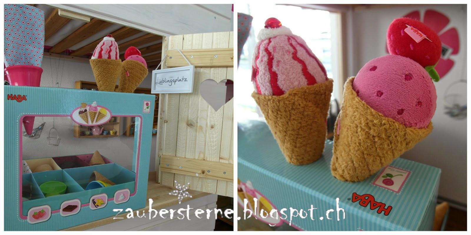 Eisladen HABA, Verkaufsladen, Glaceladen
