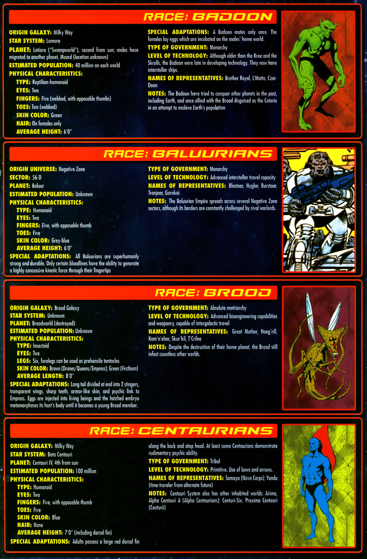 Read online Annihilation:  The  Nova Corps Files comic -  Issue #Annihilation:  The  Nova Corps Files Full - 46