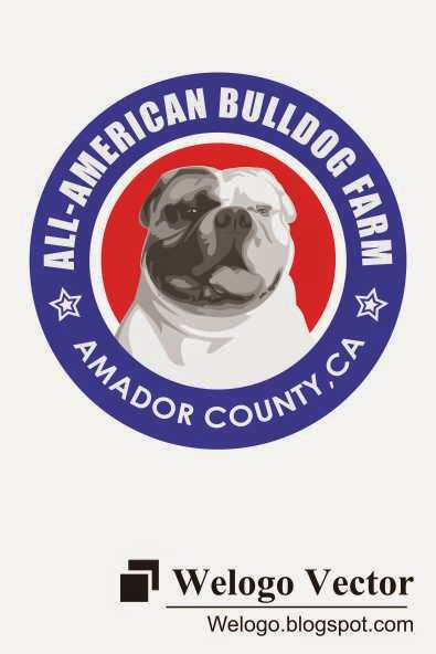 All American Bulldog Farm Logo | welogo