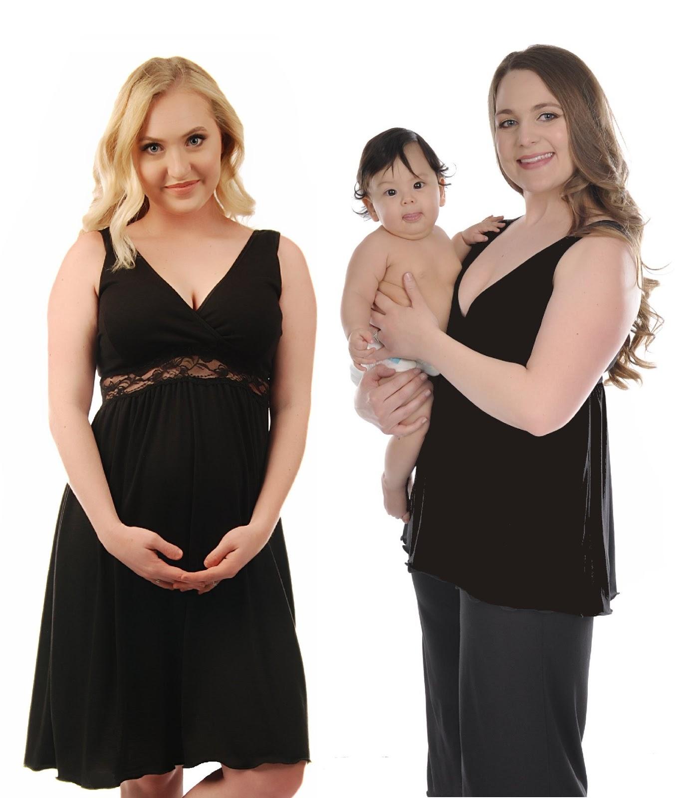 Best in Plus Size Maternity Nursing Wear