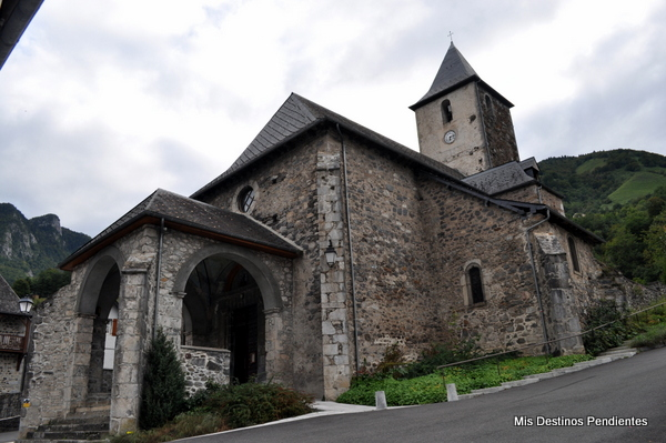 Iglesia de San Miguel (Borce, Pirineo Francés)