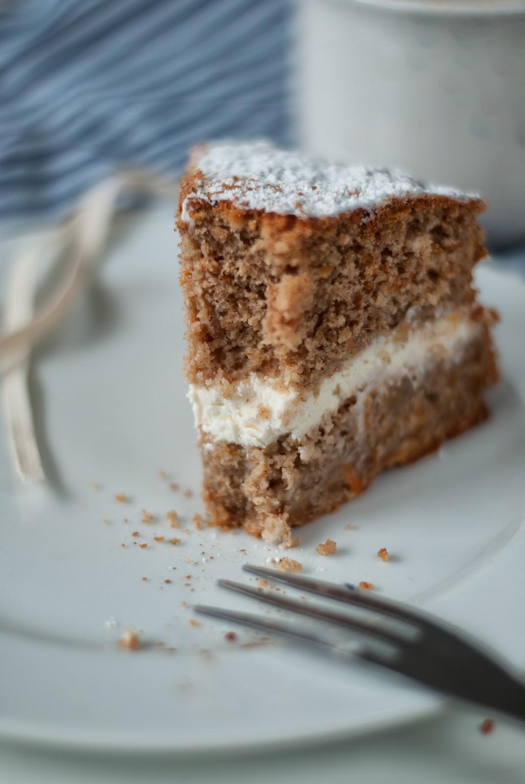 Szybkie ciasto marchewkowe bez glutenu
