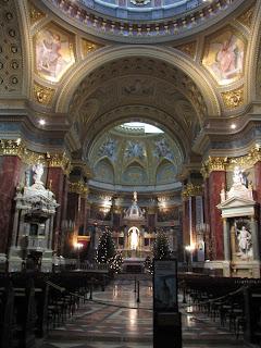 Basílica de San Esteban interior 1